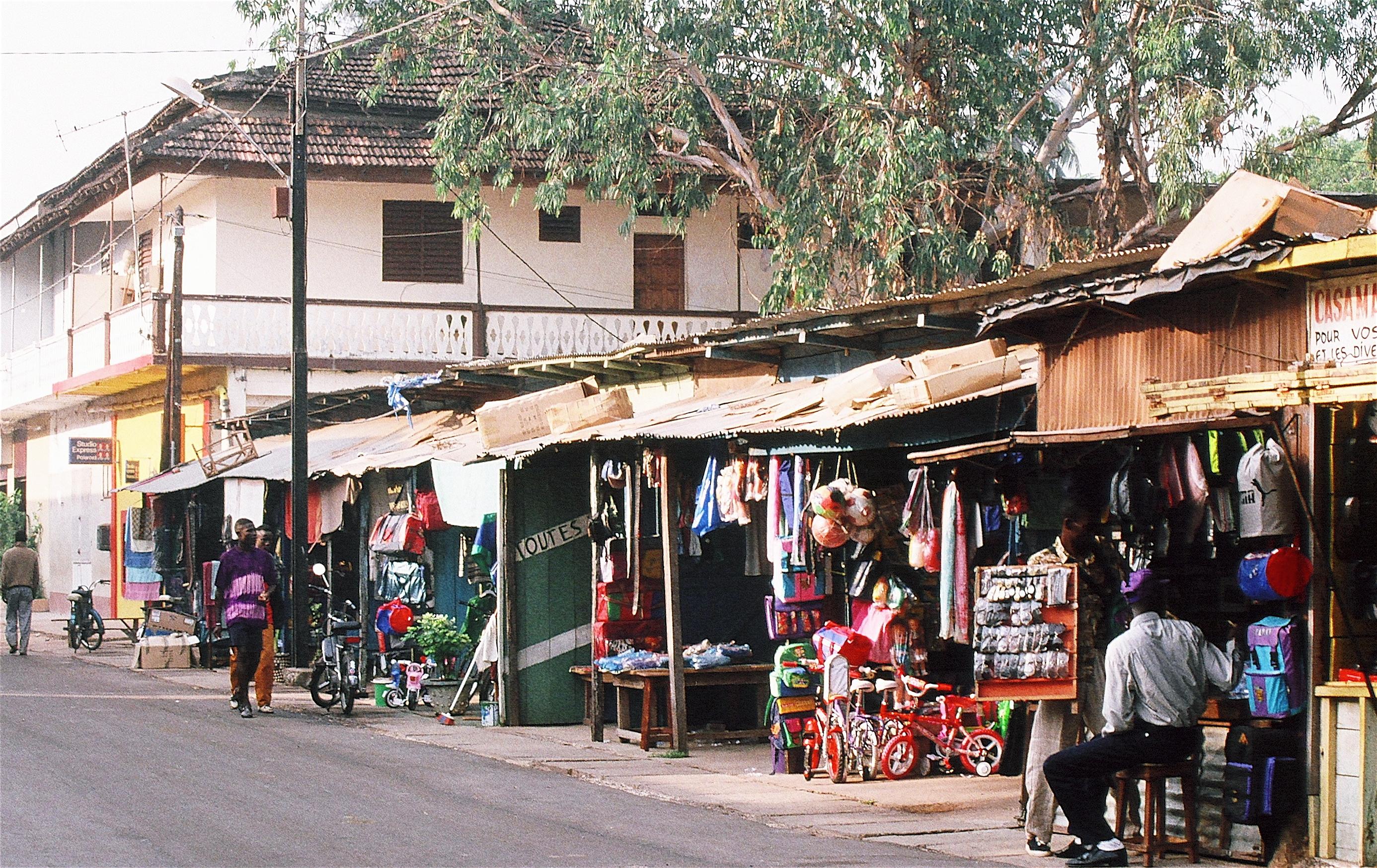 Ziguinchor city