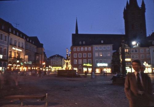 Burt-Haupt Market at Night