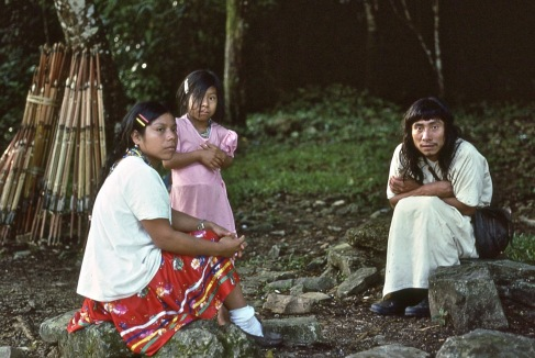 Local Palenque Indians