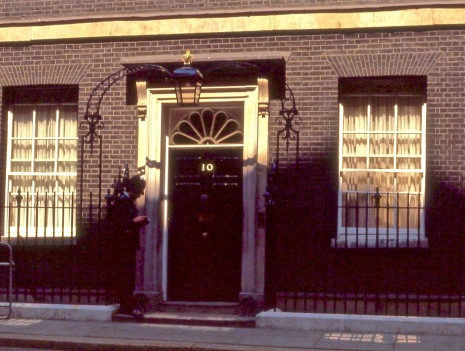 Number 10 Downing St.