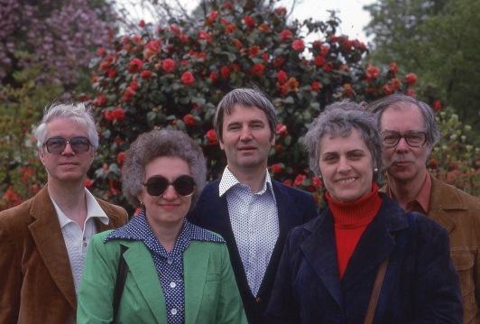 Bob, Jeanne, Burt, Gisela and Wolfgang