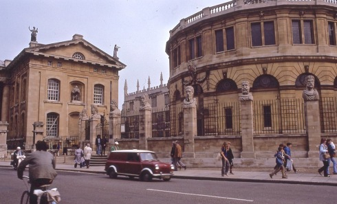 Sheldonian Theatre-Oxford