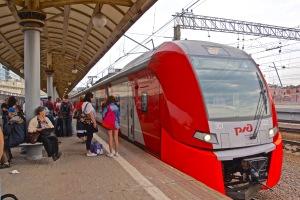 Train to Vladimir