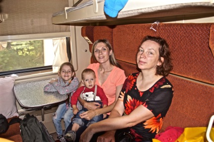 Train Compartment Mates