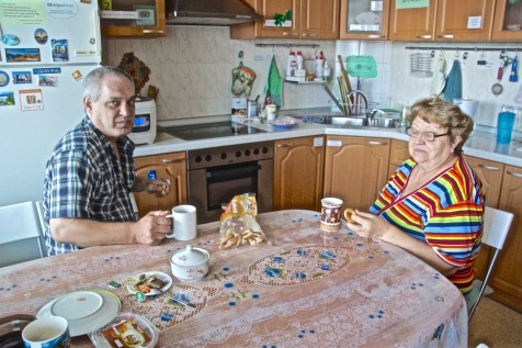 Russians in Hostel