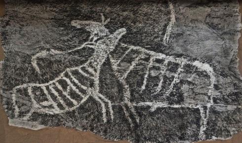 Copies of Petroglyphs