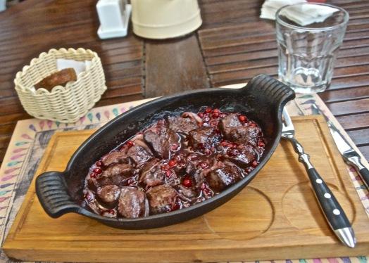 Venison in Cowberry Sauce