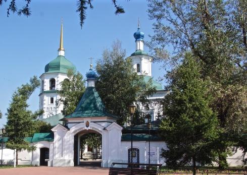 Znamensky Monastery-Irkutsk