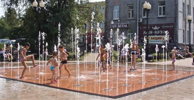 Irkutsk Fountain