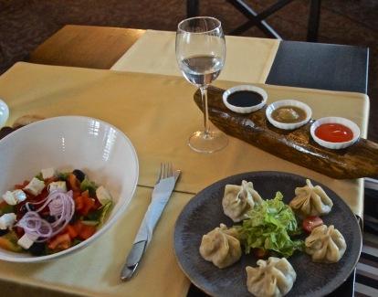 Mongolian Boozy-Dumplings