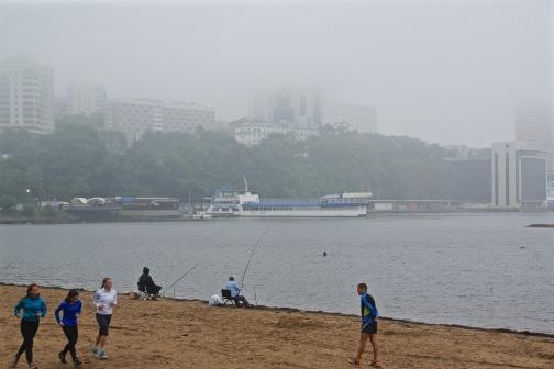 Misty Day in Vladivostok