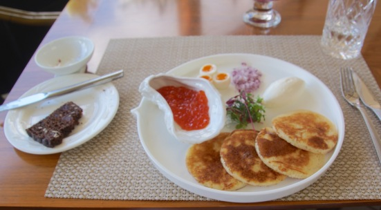 Blini and Caviar