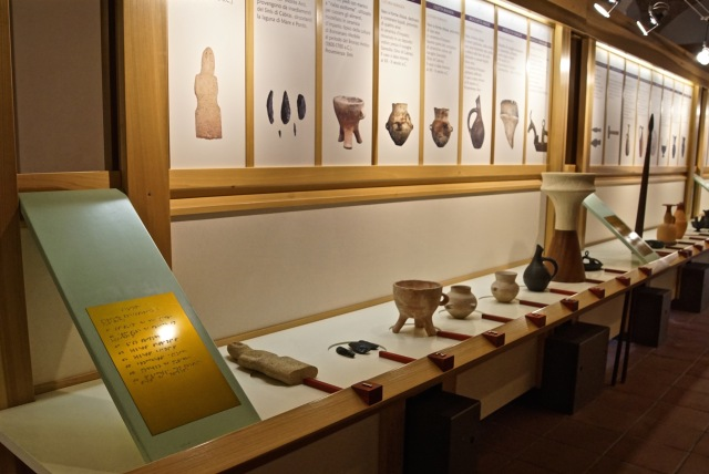 Braile Museum with Copies to Touch
