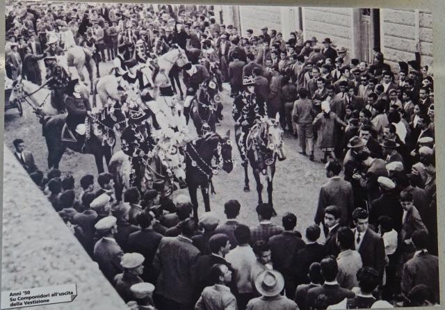 La Sartiglia Oristano, 1950