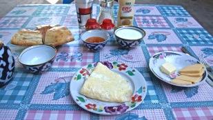 First Day Hostel Breakfast