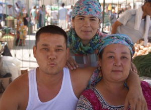 At The Nukus Bazaar