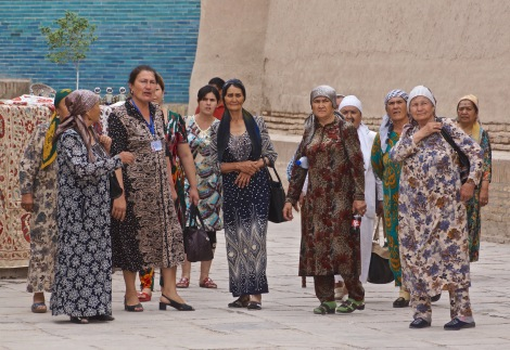 Uzbek Tourists