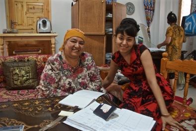 Checking Into Rustam & Zukhra, Bukhara