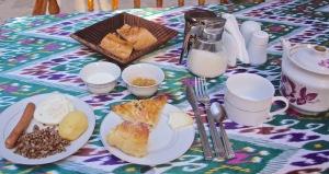 Breakfast at Rustam & Zukhra