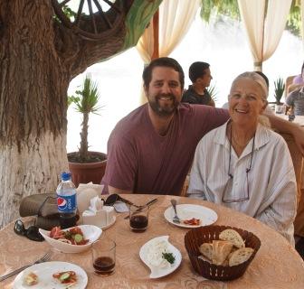 Sharon and son, Richard