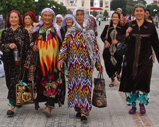 Uzbek Women in Samarkand