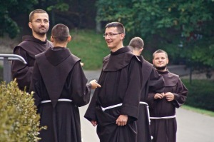 Monks at Camaldoli