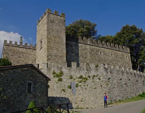 Partina Castle, Rear View